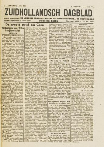 Zuidhollandsch Dagblad 1944-07-11