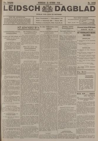 Leidsch Dagblad 1938-10-26