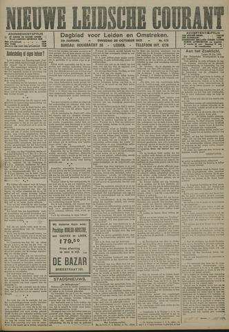 Nieuwe Leidsche Courant 1921-10-25