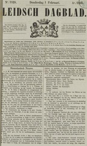 Leidsch Dagblad 1866-02-01