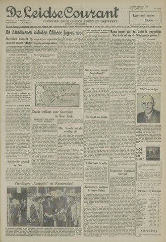 Leidse Courant 1954-07-27