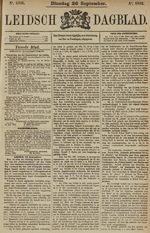 Leidsch Dagblad 1882-09-26