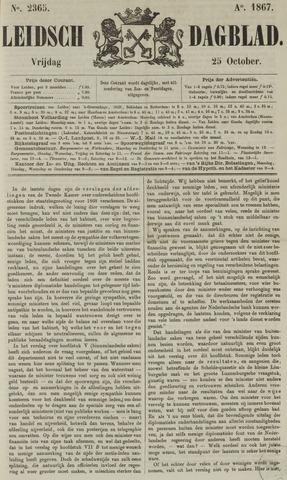 Leidsch Dagblad 1867-10-25