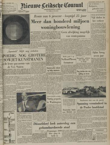 Nieuwe Leidsche Courant 1957-10-07