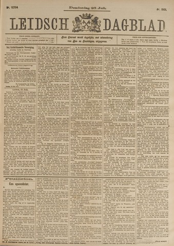 Leidsch Dagblad 1901-07-25