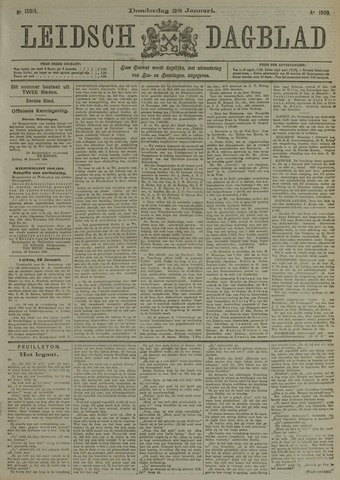 Leidsch Dagblad 1909-01-28
