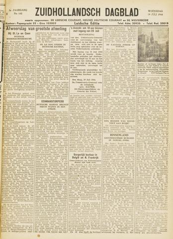 Zuidhollandsch Dagblad 1944-07-19
