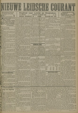 Nieuwe Leidsche Courant 1921-03-22