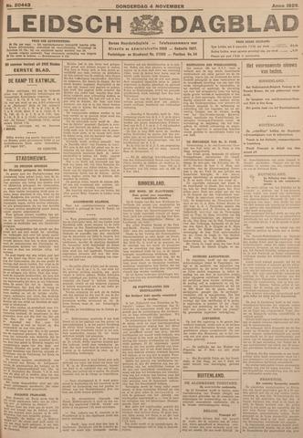 Leidsch Dagblad 1926-11-04
