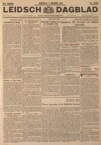 Leidsch Dagblad 1942-11-05