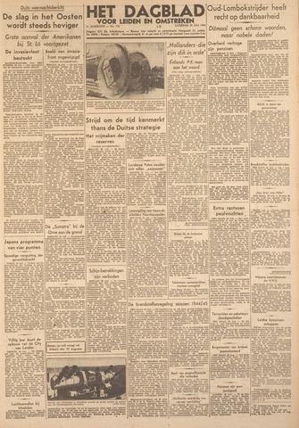 Dagblad voor Leiden en Omstreken 1944-07-29