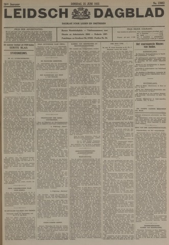 Leidsch Dagblad 1935-06-25