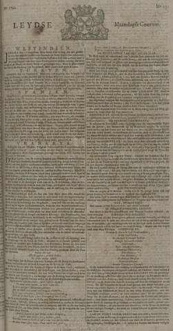 Leydse Courant 1722-11-02