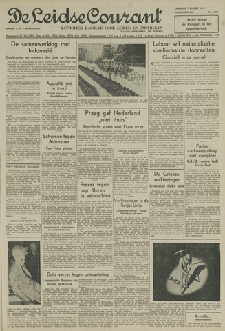 Leidse Courant 1950-03-07