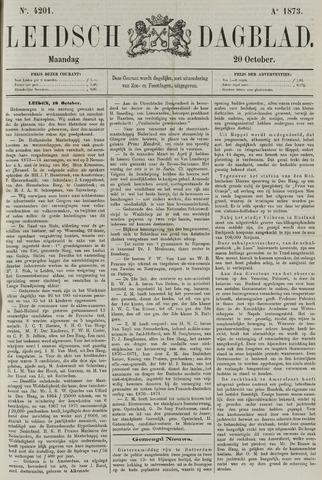 Leidsch Dagblad 1873-10-20