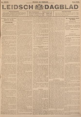 Leidsch Dagblad 1926-02-26