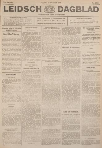 Leidsch Dagblad 1930-10-31