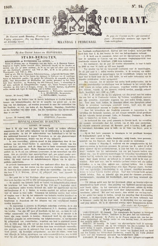 Leydse Courant 1869-02-01