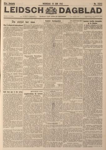 Leidsch Dagblad 1942-06-10