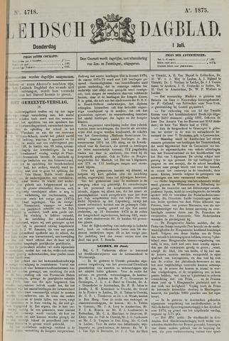 Leidsch Dagblad 1875-07-01
