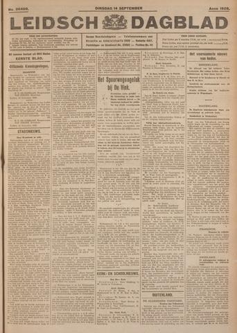 Leidsch Dagblad 1926-09-14