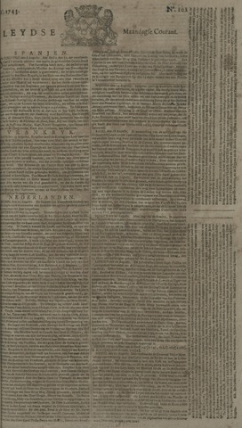 Leydse Courant 1743-08-26