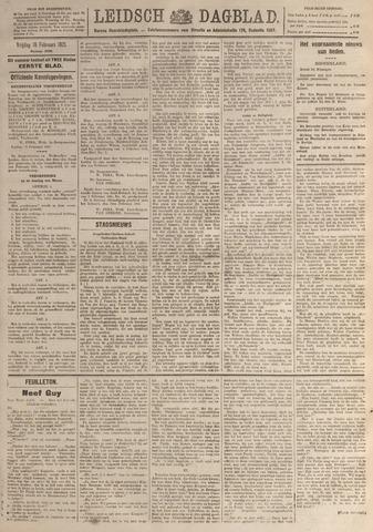 Leidsch Dagblad 1921-02-18