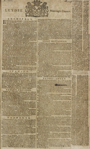 Leydse Courant 1771-11-18