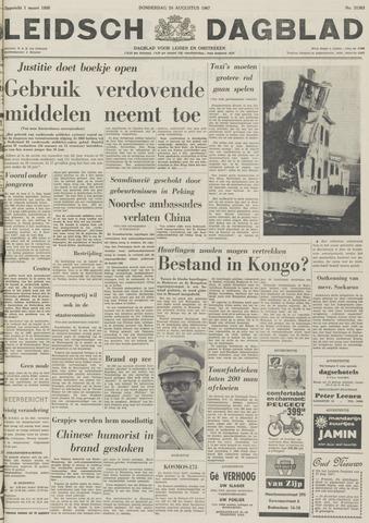 Leidsch Dagblad 1967-08-24