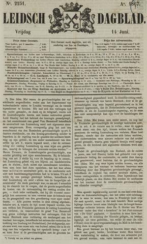Leidsch Dagblad 1867-06-14