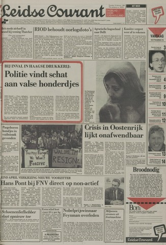 Leidse Courant 1988-02-16