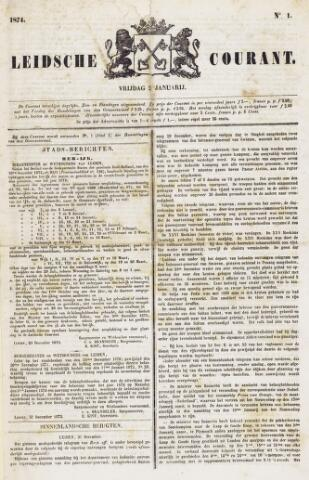 Leydse Courant 1874