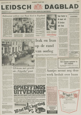 Leidsch Dagblad 1980-04-08
