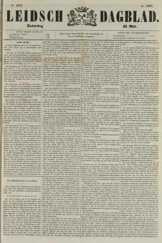 Leidsch Dagblad 1870-05-21