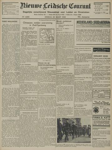 Nieuwe Leidsche Courant 1938-03-29