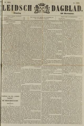Leidsch Dagblad 1870-11-29