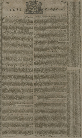 Leydse Courant 1749-05-14