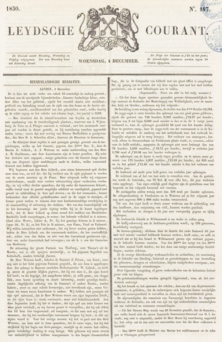 Leydse Courant 1850-12-04
