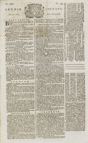 Leydse Courant 1820-12-22