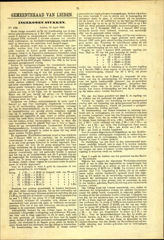 Handelingen van de Raad 1920-04-15
