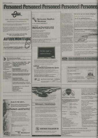 sollicitatiebrief reisadviseuse Leidsch Dagblad | 16 juni 2001 | pagina 18   Historische Kranten  sollicitatiebrief reisadviseuse