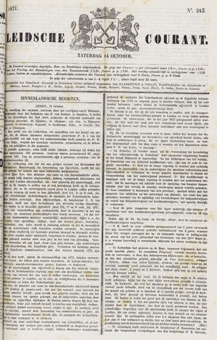 Leydse Courant 1871-10-14