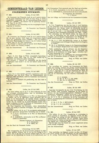 Handelingen van de Raad 1907-07-13