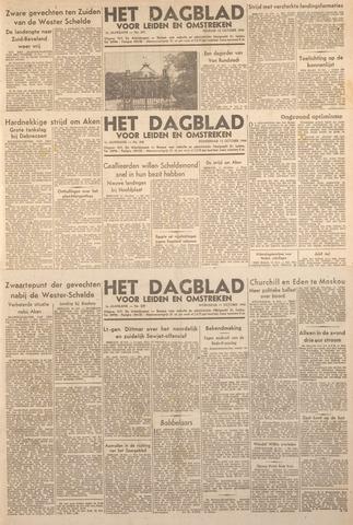 Dagblad voor Leiden en Omstreken 1944-10-13