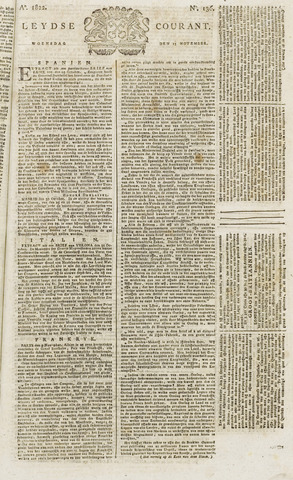 Leydse Courant 1822-11-13
