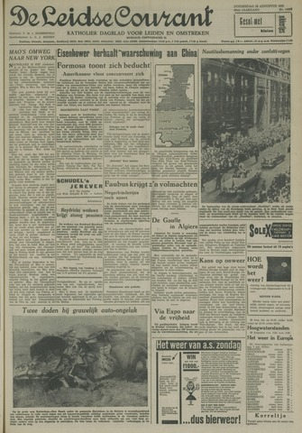 Leidse Courant 1958-08-28