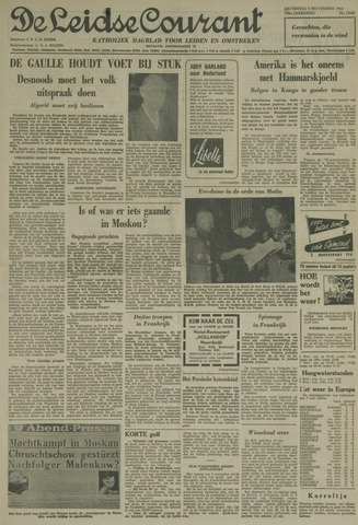 Leidse Courant 1960-11-05