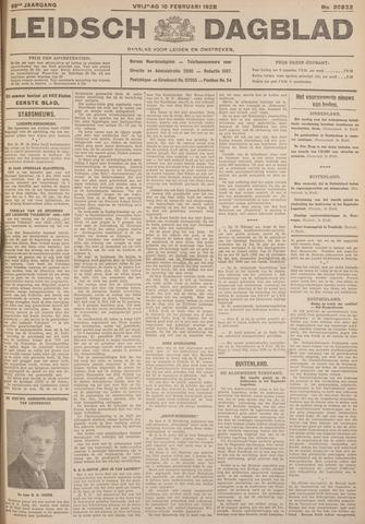 Leidsch Dagblad 1928-02-10