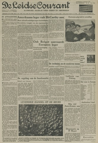 Leidse Courant 1954-03-13