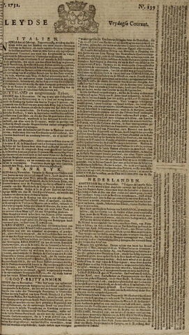 Leydse Courant 1751-11-19
